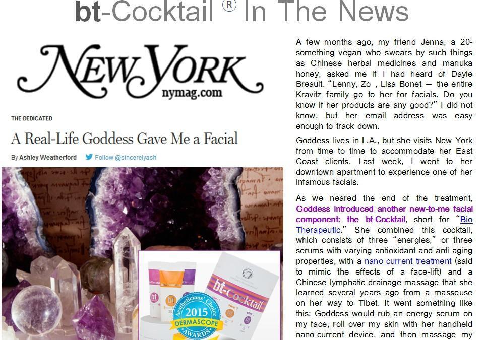 """El bt-Cocktail conquista la """"Gran Manzana"""""""